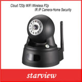 Wolke 720p WiFi drahtlose P2p IR IP Kamera-Haus Sicherheit