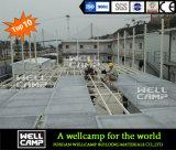 Zwei Fußboden-bewegliches modulares vorfabriziertes Gebäude für Arbeitskräfteanpassung/Guangzhou/Foshan