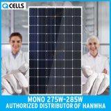 Q-Cellules picovolte mono/panneau photovoltaïque 275W 280W pour le système d'alimentation solaire