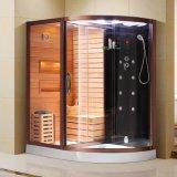 Sauna à sec et humide Salle à vapeur Sauna cabine (K9751)
