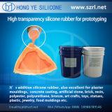 Caoutchouc de silicone à haute résistance au déchirement pour le prototypage 40 Shore a