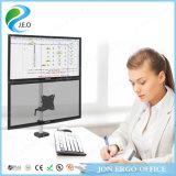 Canalización vertical del montaje del monitor de la visualización de ordenador del doble del brazo de Jeo Ys-Ae20c