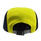 カスタムPloyesterの最高の帽子のキャンピングカーの帽子の急な回復5のパネルの帽子