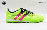 2017の熱い販売の通気性の屋外のサッカーの靴