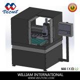 Mini centro di piccola dimensione di CNC con il router automatico di CNC del commutatore dello strumento (VCT-4540ATC)