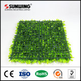 Material personalizado de PE artificial de plástico verde Vid