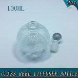 Fantasie-Raum-Kristallkugel-Stopper-Glasreeddiffuser- (zerstäuber)flasche des Bereich-100ml