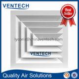 Ventilations-zentraler Klimaanlagen-Luft Suqare Decken-Diffuser (Zerstäuber)