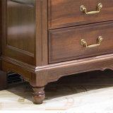 Gabinete de madera de madera de estilo americano para muebles de casa (as810)