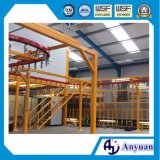 Manuelle automatische Puder-Beschichtung-Maschine für Metallprodukte