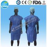 Устранимый Nonwoven SMS медицинский Scrub костюм