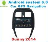 Auto DVD des Android-6.0 für Nissans sonniges 2014-2016 mit Auto-Navigation