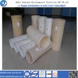 Sacchetto filtro perforato ago non tessuto del filtrante per il collettore di polveri