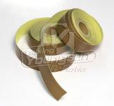 PTFE (テフロン)はガラス繊維ファブリックPTFEテープに塗った