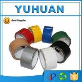 Cinta adhesiva coloreada impermeable del conducto del paño de la alta calidad