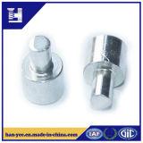 Серебр высокого качества или заклепка стали с круглым основанием