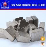 Lâmina de serra grande de 2500 mm para cortar granito Segmento de diamante de qualidade superior