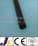 Profil 6082 T6 en aluminium anodisé noir (JC-P-10095)