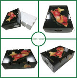 Las frutas caja de embalaje de cartón ondulado con estilo superior e inferior