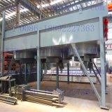 精製所の空気によって冷却される熱交換器のための鉄骨フレーム