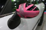 Cor desportiva protegida UV plástica de Jack de união da cor-de-rosa do estilo do ABS brandnew com tampas do espelho do carbono da alta qualidade para Mini Cooper R56-R61