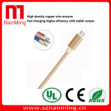 Tissu tressé Micro USB 2.0 Câble de chargeur de données