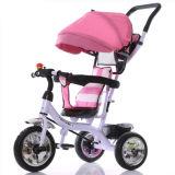 Triciclo registrabile del bambino di sicurezza della sede di nuovo stile popolare di modello