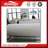 Anti-Curl 1,52 m (60 pol.) do rolo jumbo 57GSM sublimação de tinta de secagem rápida do rolo de papel de fornecedor de fábrica