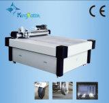 Tissu de la faucheuse Carton Cuir Couteau oscillant Machine de découpe CNC