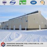 Entrepôt de structure métallique pour élever des collectes