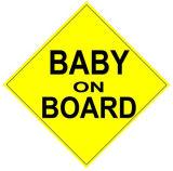 Baby de Van uitstekende kwaliteit van de Douane van de Prijs van de fabriek Weerspiegelende aan boord van het Magnetische Teken van de Auto