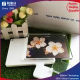 Bâti magnétique de photo de réfrigérateur acrylique fait sur commande promotionnel