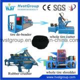 기계를 재생하는 폐기물 고무 타이어 슈레더 기계 또는 자동차 타이어