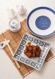 Melamin-modernes blaues Art-Tafelgeschirr/Melamin-Platte/Melamin-Essgeschirr (DC4116)