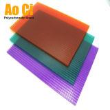 Крышка парника поликарбоната 50 микронов UV защищенная