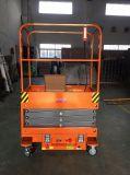 Mini elevador de tijera hidráulica móvil (máx. 3,8 m de altura)