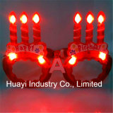 LED-blinkende alles- Gute zum Geburtstagsonnenbrillen
