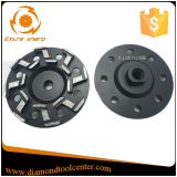 5 колесо чашки диаманта этапа дюйма s дюйма 7 конкретное меля