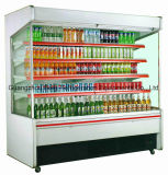 Supermercado Moderno design Multi-Deck Chiller Cortina de Ar