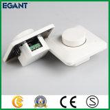 Interruptor controlado Certificated Ce do redutor do diodo emissor de luz do botão giratório