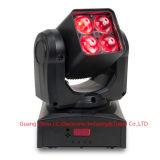 4 * 10W RGBW 4in1 LED bewegliches Hauptsummen-Licht