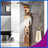 Função Fyeer Luxury 5 massagem de chuvas Painel Chuveiro de Aço Inoxidável