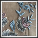 4つの調子の網の刺繍のレースのテュルの刺繍のレースポリエステル刺繍のレース