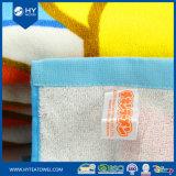 100%年の綿のベロアの反応印刷されたビーチタオル