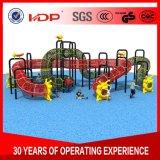 La sécurité de l'équipement de terrain de jeux de plein air colorés, utilisé dans l'école