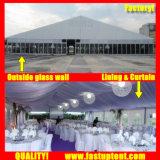Fornecedor evento festa de casamento Marquee para 600 pessoas e lugares de comentários