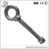螺旋形のナットが付いている造られたステンレス鋼の規則的なアイボルト