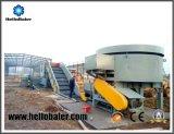 La biomasse de la paille/foin/maïs/concasseur de blé pour le processus d'aliments pour animaux