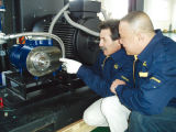250 kw 350HP Compresor de aire de tornillo rotativo con profesionalidad (SE250A)(W).