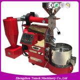 가득 차있는 스테인리스 가스 전기 커피 로스터 커피 굽기 기계